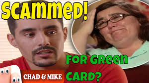 Green Card Meme - scammed danielle and mohamed from 90 day fiance on tlc did he