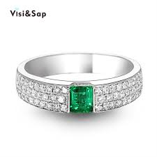 grandmother rings visisap grandmother green wedding rings for women luxury