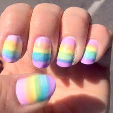opi sheer tints rainbow nails my wicked splatters nail art