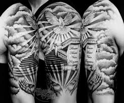 the 25 best christian sleeve tattoo ideas on pinterest tattoo