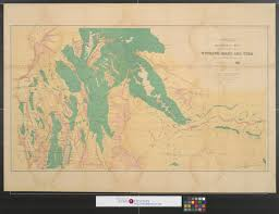 Map Of Idaho And Utah by Economic Map Of Portions Of Wyoming Idaho And Utah The Portal