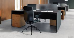 Uk Office Desks White Office Desks Quaranta5 2 Person Desk Fantoni Uk