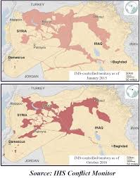 Syria And Iraq Map by Islamic State Of Iraq And Syria Isis