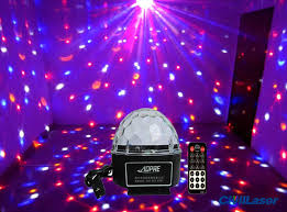 small led lights with remote led lighting disco crystal ball small projector for home party with