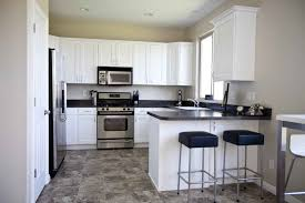 white kitchen ideas inspiring grey and white kitchen ideas with simple floor and black