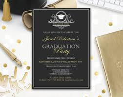 college graduation invitation templates graduation announcement boy printable template navy high