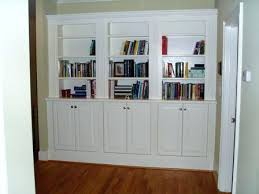 bookcase build bookcase wall unit partition with shelves