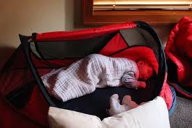 travel baby bed images Sleep training our infant son tips for baby travel jpg