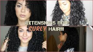3a Curly Hair Extensions by Types Of Extensions For Curly Hair Sarahscurls Youtube