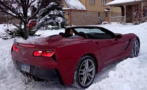2014 convertible corvette pic harlan charles drives a 2014 corvette stingray convertible to