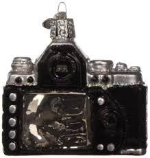 amazon com old world christmas camera glass blown ornament home