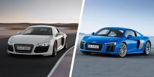 nissan gtr vs audi r8 2015 audi r8 tt and old r8 comparison carwow