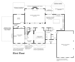 Room Design Floor Plan Estates At Hilltown The Elkton Home Design