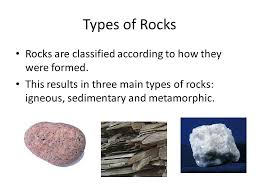 types of rocks types of rocks junior science ppt video online download