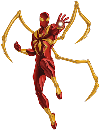 spider transparent background iron spider armor ultimate spider man animated series wiki