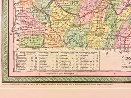 Map Of Eastern Pennsylvania by Antique