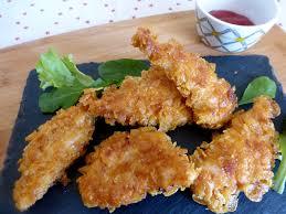 recette de cuisine poulet les mets tissés cuisine d ici et d ailleurs poulet pané aux corn