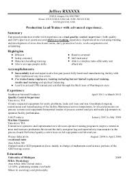 Tool And Die Maker Resume Tool And Die Maker Resume Class Jotted Gq