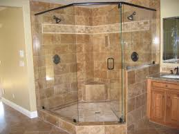 Pictures Of Tiled Showers by Bathroom Cozy Tile Floor With Walk In Shower Kits And Glass