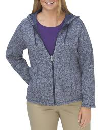womens sweater s plus size hooded jacket dickies