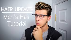 updated hairstyle men u0027s hair tutorial for long hair youtube