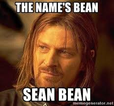 Sean Bean Meme Generator - the name s bean sean bean boromir meme generator
