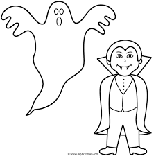 ghost halloween vampires coloring pages nice coloring pages kids