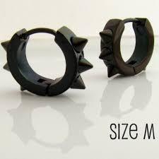 cool studs for guys want mens earrings black hoop huggie earrings for men or rockers