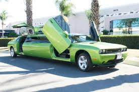camaro limousine a cool green car cars limo cars and