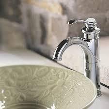 single hole bathroom sink faucet k 12183 2bz bn cp kohler fairfax single hole bathroom faucet with