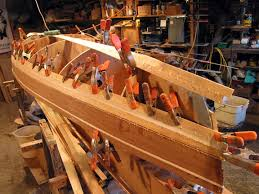 kayak and canoe building woodstrip tricks glue stapleless