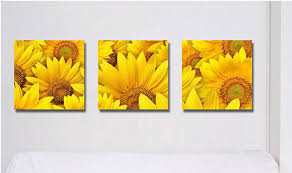 Beauty painting pictures decor living room decoration Sunflower