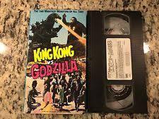 king kong godzilla vhs ebay