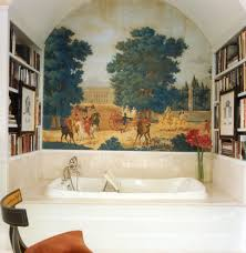remarkable wall murals decorating ideas awesome wall murals decorating ideas for bathroom traditional design ideas with awesome arched ceiling bath