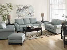 Faux Leather Living Room Set Living Room Alluring Livingroom Furniture Houston Blue In