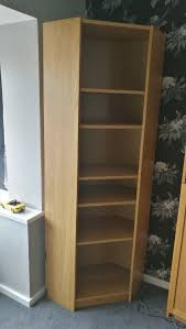 Billy Corner Bookcase Ikea Billy Corner Bookcase In Oak Fits With Normal Bookcase Also