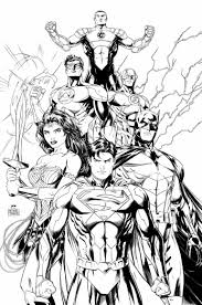 justice league coloring pages best coloring pages