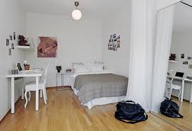 Apartment Layout Design Bedroom And Workspace Ideas In All In One Room Apartment Layout