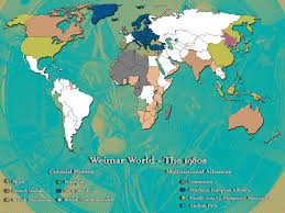 Weimar Germany Map by Weimar World Alternate History Discussion