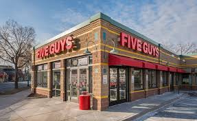 five guys opening hours restaurant locations near me and phone