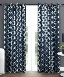 blue geometric curtains u2013 mirak info