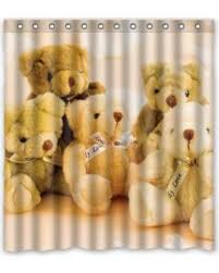 Teddy Shower Curtain Deals On Ganma Teddy Shower Curtain