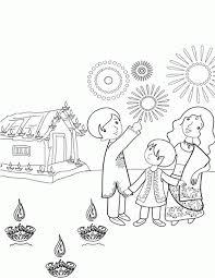 shri krishna janmashtami coloring printable pages kids
