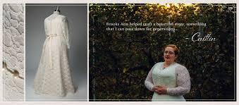 Custom Wedding Dress Brooks Ann Camper Bridal Couture U2013 Custom Wedding Dresses And