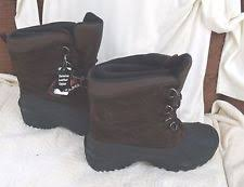 s totes boots size 12 leather solid pattern totes waterproof boots for ebay