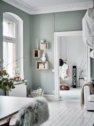 green grey home with character via coco lapine design wn trza wall color green grey home with character via coco lapine design pastel interior