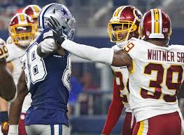 cowboys vs redskins thanksgiving dallas cowboys how the refs mishandled the dez bryant josh norman