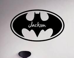Batman Home Decor Batman Family Decal Etsy