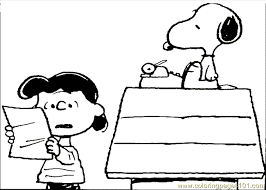 Ideas Snoopy Coloring Pages Additional Free Download