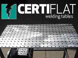 Folding Welding Table 3 U0027x4 U0027 Large Heavy Duty Welding Table Top Kit Certiflat By Tab